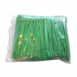 Bundelband 200 x 3.6mm groen (1000x)