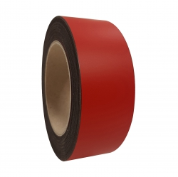 Magneetband 0,6mm 40mm rood n.k.