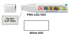 Posterman PMA120/000 wit 15mm