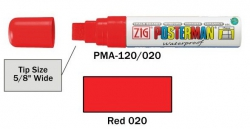 Posterman PMA120/020 rood 15mm
