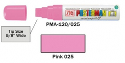 Posterman PMA120/025 roze 15mm