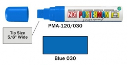 Posterman PMA120/030 blauw 15mm