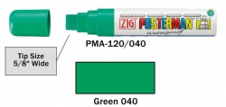 Posterman PMA120/040 groen 15mm